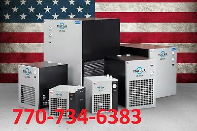 Macair -175 Cfm Refrigerated Air Dryer Non-cycling 115230 1ph Patriot Series