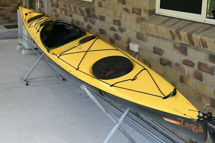 Zegul Sea Rocket Carbon Hull Sea Kayak