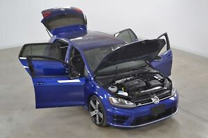 2017 Volkswagen Golf R Tech. 2.0T 4Motion GPS*Radar*Fender*Cuir*