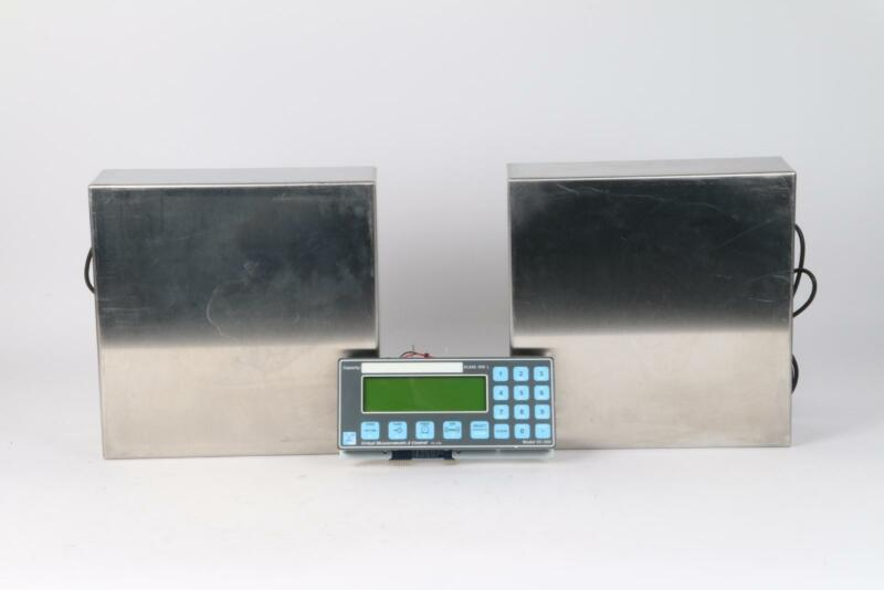 Virtual Measurement VC-505 Scale Controller w/ 2x Rice Lake RL1010 Load Cell