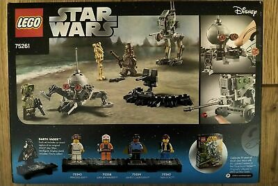 LEGO 75261 STAR WARS CLONE SCOUT WALKER 20TH ANNIVERSARY EDITION NEW