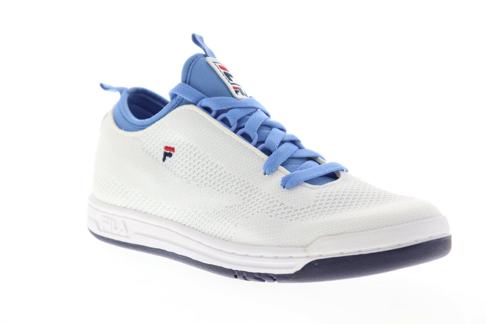 Fila Original Tennis 2.0 Knit Mens White Canvas Casual Low Top Sneakers Shoes