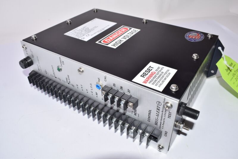 NEW, Meg-Alert, Automatic Insulation Resistance Tester, Part: GP25000-MU-AS