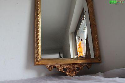 großer Wandspiegel goldfarben 93,5cm Barockstil prunkvoller Rahmen