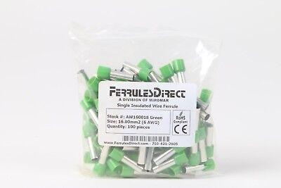 Ferrules Direct Aw160018 Single Insulated Wire Ferrule