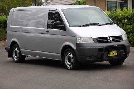 Volkswagen transporter t5 lwb 2005 auto turbo diesel Beaumont Hills The Hills District Preview