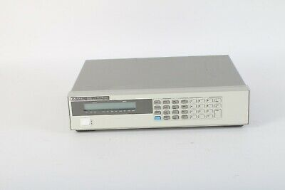 Hp Agilent 6060b 3-60v 0-60a 300w System Dc Electronic Load -fair Condition
