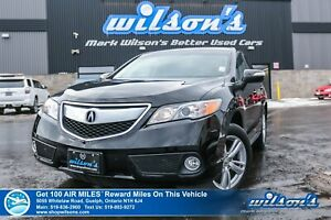 2015 Acura RDX Tech AWD - Leather, Sunroof, Navigation, Rear Cam