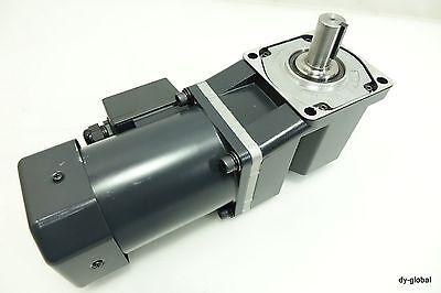Oriental Gear Head 3phase Bhi62st-15ra Induction Motor Angle Output Shaft 9