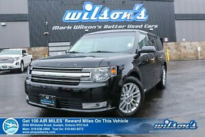 2018 Ford Flex SEL AWD - Leather, Navigation, Vista Roof, Remote