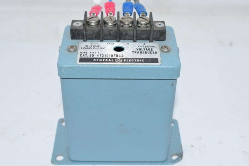 GE GENERAL ELECTRIC VOLTAGE TRANSDUCER 50-472101DFDC2