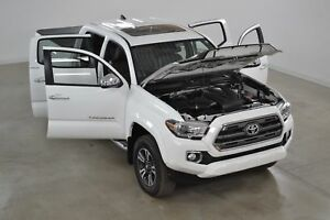 2016 Toyota Tacoma Limited V6 4x4 Double Cab GPS*Cuir*Toit Ouvra