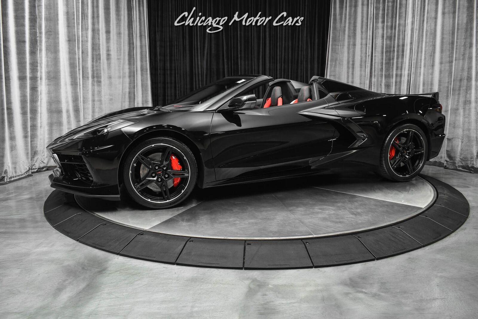 2021 Black Chevrolet Corvette Convertible Z51   C7 Corvette Photo 1