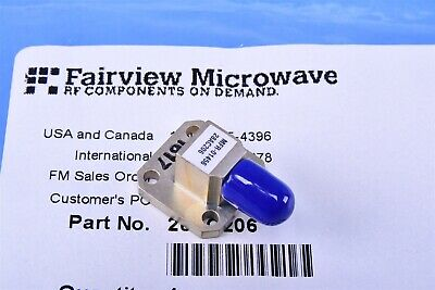 Fairview Microwave Wr-28 To 2.92mm Female Waveguide To Coax Adapter 26.5-40 Ghz