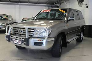 2006 Toyota 100 SERIES GXL LandCruiser 8 SEATER AUTO V8 Wagon Southport Gold Coast City Preview