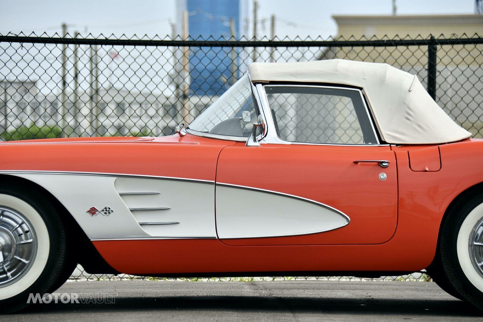1958 Red Chevrolet Corvette   | C1 Corvette Photo 9