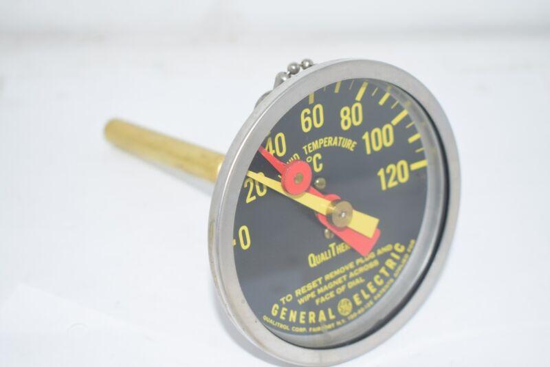 GE Qualitrol QualiTherm 150-40-12E 0-120 Liquid Temperature Gauge 3-3/4