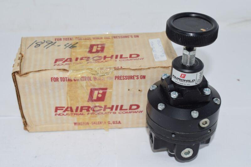NEW Fairchild 81 Multi-Stage Pressure Regulator 150 PSI