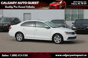 2015 Volkswagen Jetta 2.0L BACK UP CAMERA/5-SPEED/SUNROOF