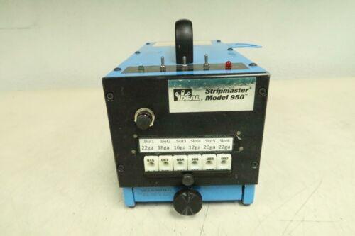 Ideal 950 Stripmaster Wire Stripper 12 VDC T139019
