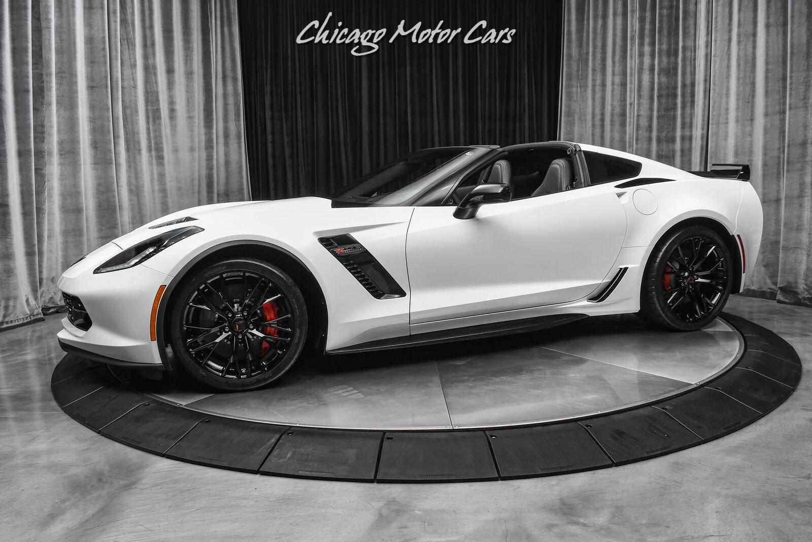 2019 White Chevrolet Corvette Z06 2LZ   C7 Corvette Photo 1