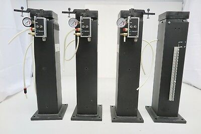 Set Of 4 Genuine Newport I-vh-4205 Optical Table Vibration Isolators 20h X 4w