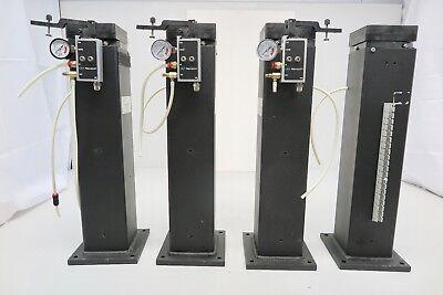 Set Of 4 Genuine Newport I-vh-4205 Optical Table Vibration Isolators 20h X 4w