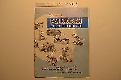 J103 Palmgren Usa Catalog No. 210 Vise Rotary Table Tilting Table Cross Slide