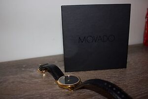 Men's MOVADO MUSEUM CLASSIC Gold Leather Swiss Quartz BRAND NEW Melbourne CBD Melbourne City Preview