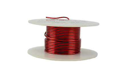 Temco Magnet Wire 16 Awg Gauge Enameled Copper 2oz 155c 15ft Coil Winding