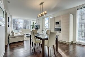 ENTIRE SPACIOUS CONDO LOCATED IN THE HEART OF DOWNTOWN FOR RENT