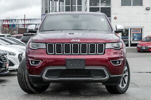 2018 Jeep Grand Cherokee Limited, NAVI, BACKUP CAM, PANO ROOF, L