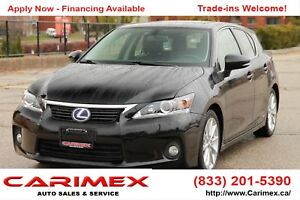 2012 Lexus CT 200h Leather | Sunroof | CERTIFIED