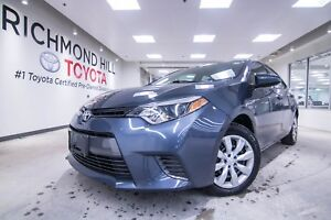 2015 Toyota Corolla LE | Bluetooth| Backup Camera| Heated Seats