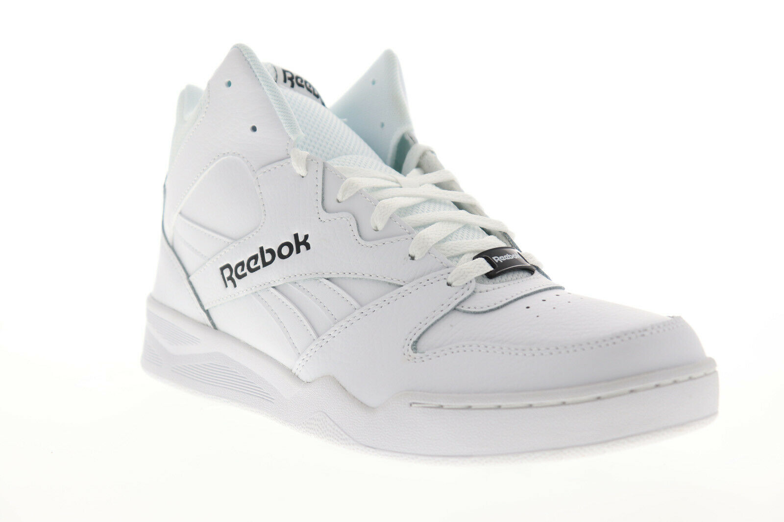 Reebok Royal Bb4500H2 Xe Mens White Wide 2E Casual High Top Sneakers Shoes