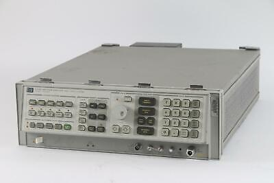 Hp 8566b Spectrum Analyzer 100 Hz To 22 Ghz W Opt. 85660b