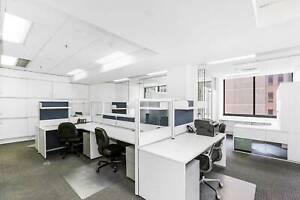 Desks/fully furnished offices in Wynyard, Sydney CBD from $450pm