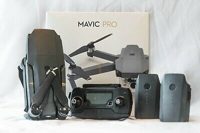 DJI Mavic Pro Drone + Accessories (Well used - gimbal slightly tilted)