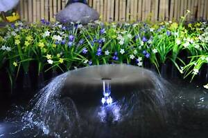 20W Solar Panel POND WATER FOUNTAIN Feature SOLAR PUMP Battery Athelstone Campbelltown Area Preview