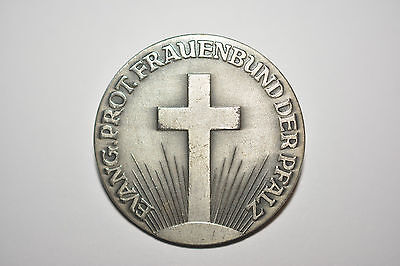 Frauenbund der Pfalz Brosche Nadel evang. prot. Verband Frauenhilfe Kirche Kreuz