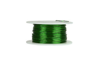 Temco Magnet Wire 22 Awg Gauge Enameled Copper 155c 8oz 250ft Coil Green