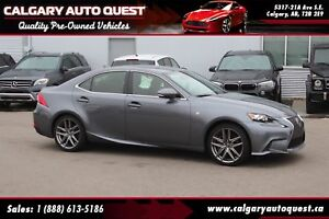 2016 Lexus IS 350 F-SPORT/AWD/NAVI/B.CAM/LEATHER