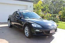 Mazda RX-8 Black Coupe 6 Spd Manual Leather Sunroof Lady Owner Elimbah Caboolture Area Preview