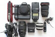 Canon 5D mark 111, Pro kit in as new condition with 2 lenses etc. Airlie Beach Whitsundays Area Preview
