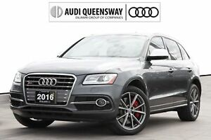 2016 Audi Sq5 3.0T Progressiv|Navi|Audi Certified :plus