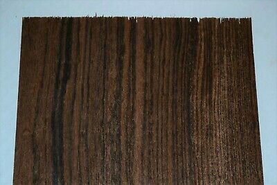 Bocote Raw Wood Veneer Sheets 6.5 X 26 Inches 142nd Thick   F8628-44
