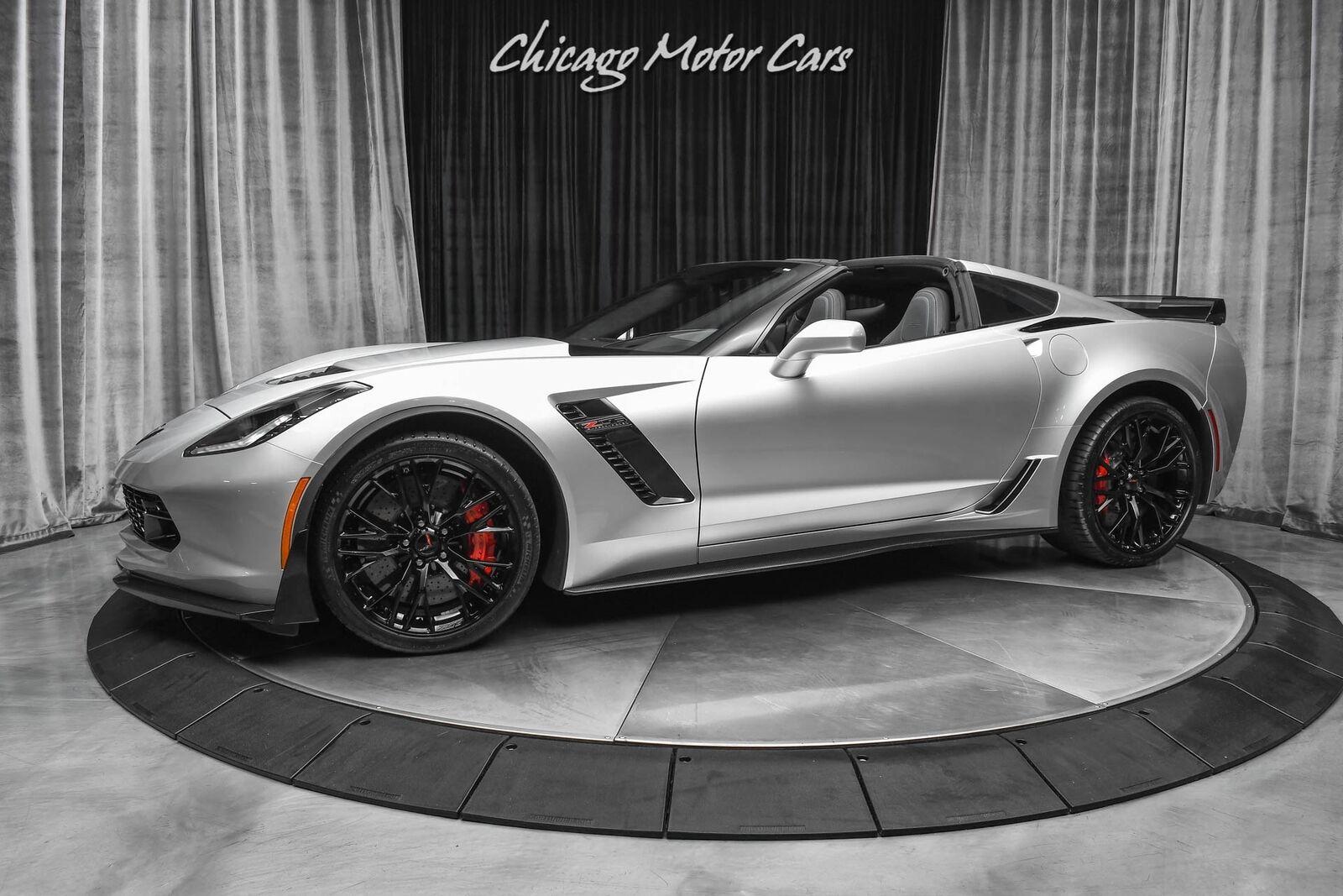 2016 Silver Chevrolet Corvette Z06 3LZ   C7 Corvette Photo 1