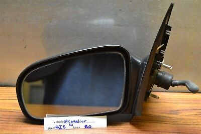 1995-2005 Chevrolet Cavalier Sedan Left Driver OEM Cable Side View Mirror 10 4I5