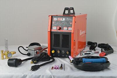 Tig Weld Aluminum 200 Amp Ac Dc Welder Dual Input Volts 120240 Foot Included
