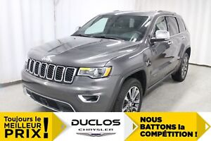 2018 Jeep Grand Cherokee LIMITED CUIR, GPS, CRUISE ADAPTATIF, CA